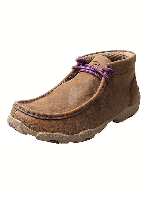 Kid's Driving Moccasin – Bomber/Purple YDM0012