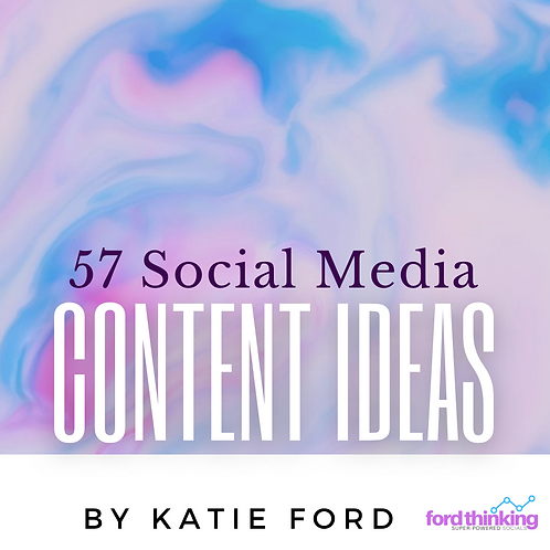 57 Social Media Ideas - eBook