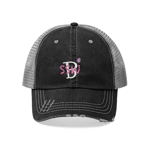 Start Small Win Big Logo Unisex Trucker Hat