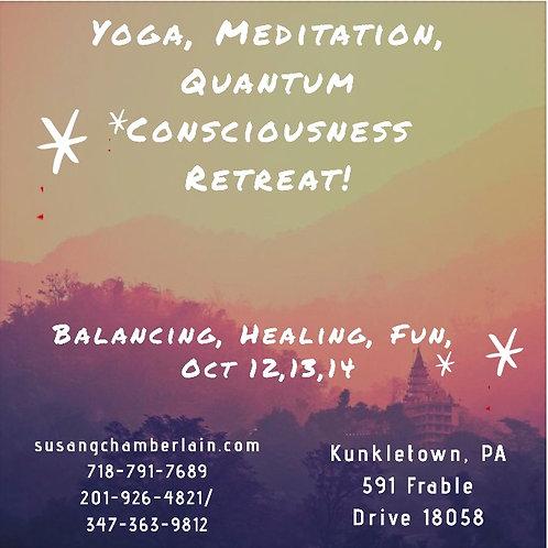 Yoga, Meditation, Quantum Consciousness Retreat