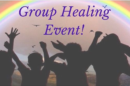 Group Healing Event! by Teleseminar (phone)