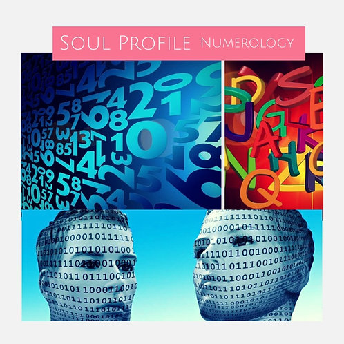 Soul Profile/Numerology Reading (2 Hr by Teleseminar)