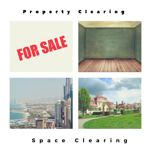 Energy Clearing of Property/Space