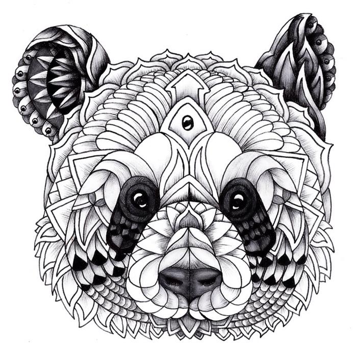 Ornate Panda