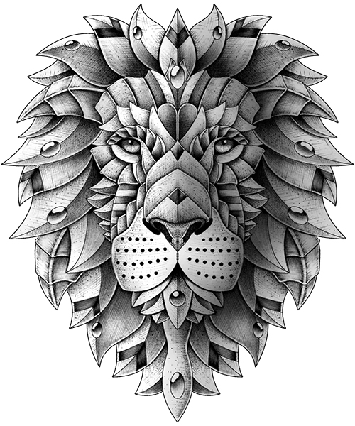 Ornate Lion