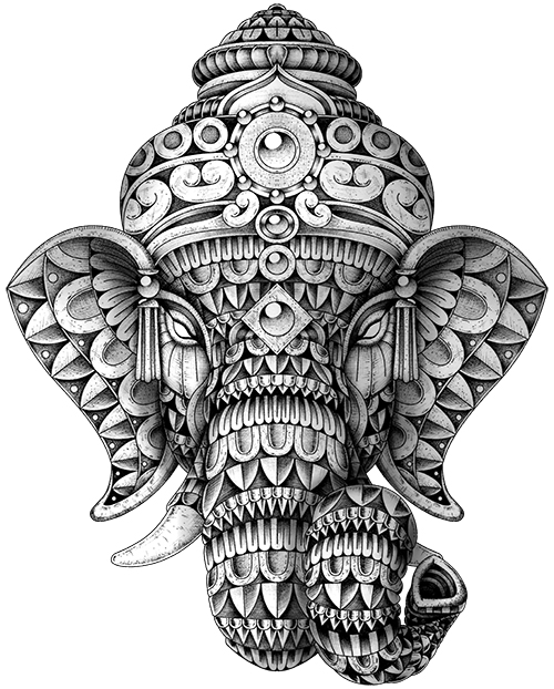 Ornate Ganesha