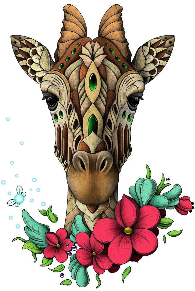 Mystic Giraffe