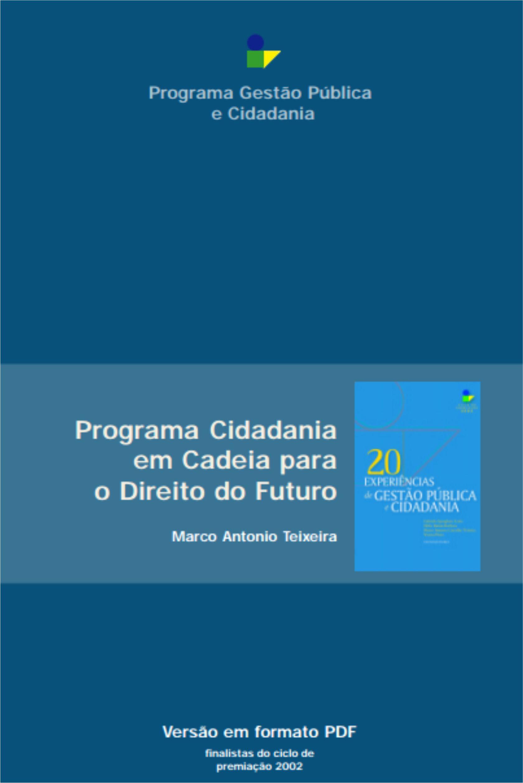 Programa Cidadania em Cadeia