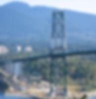Lion's Gate Bridge, Burrard Inlet, N. Sh