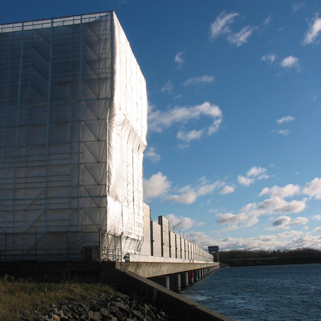 Iroquois Dam, St Lawrence River