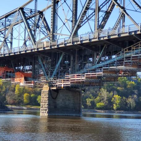 Alexandria Bridge Suspended Scaffold