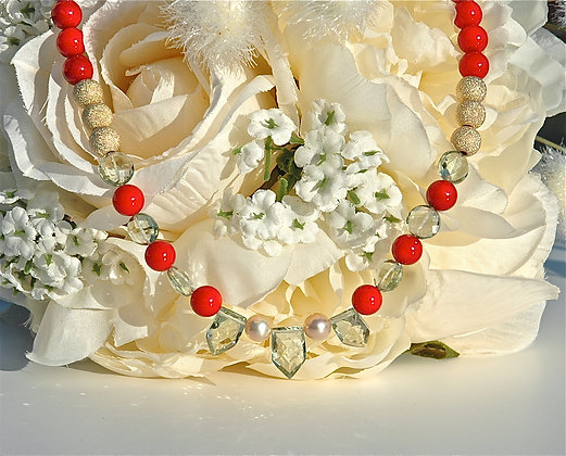 Coral Dreams Necklace
