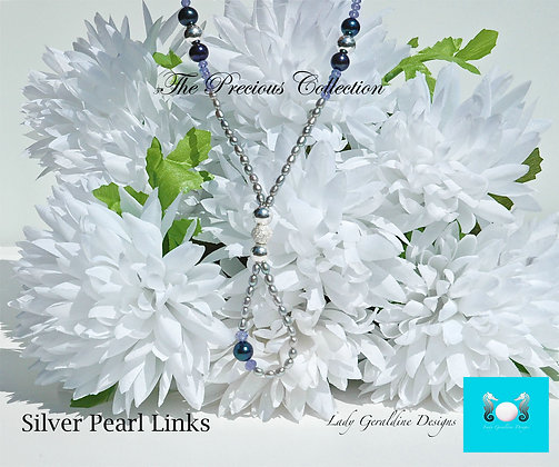 Pearl Links Necklace