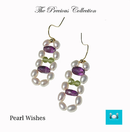 Pearl Wishes Earrings