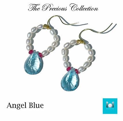 Angel Blue Earrings