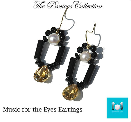 Music for the Eyes Earrings