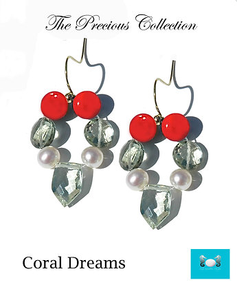 Coral Dreams Earrings