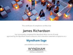 Wyndham certificat
