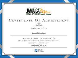 Jamaica Certificate Weddings