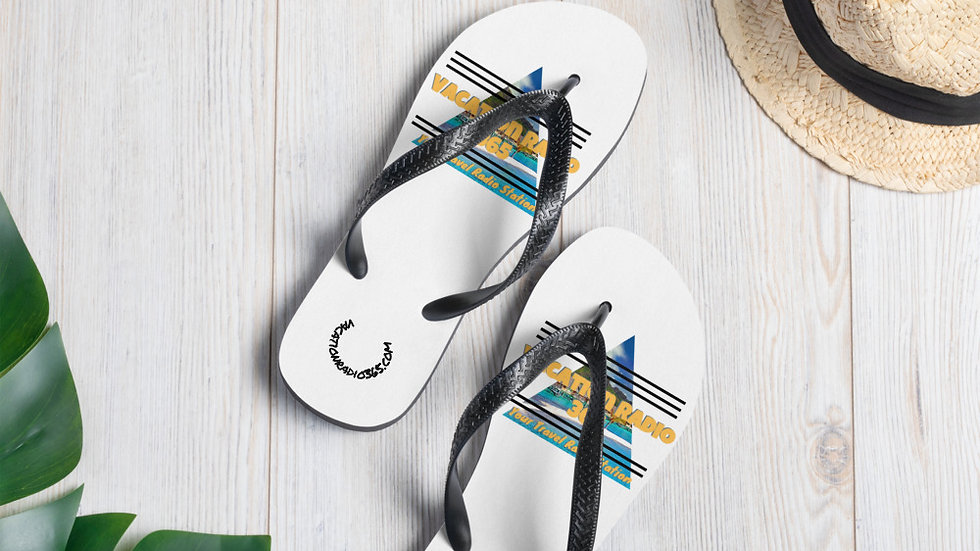 Vacation Radio Flip-Flops