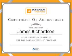 Los Cabos Certification
