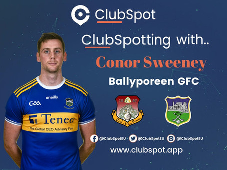 ClubSpotting with Conor Sweeney