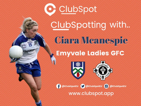 ClubSpotting with Ciara McAnespie