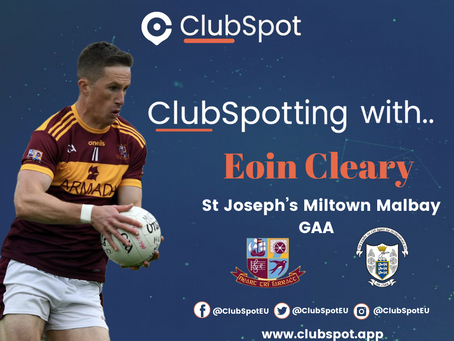 ClubSpotting with Eoin Cleary