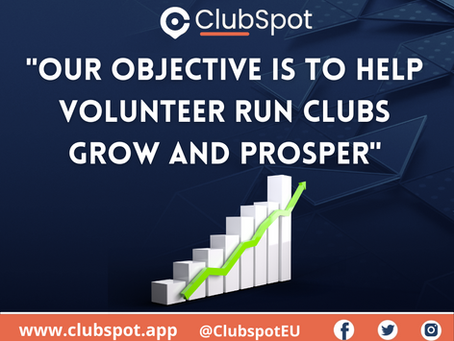 Clubs have raised over €1,000,000 using ClubSpot!