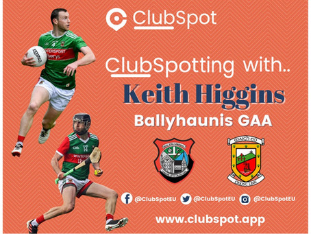 ClubSpotting with Keith Higgins