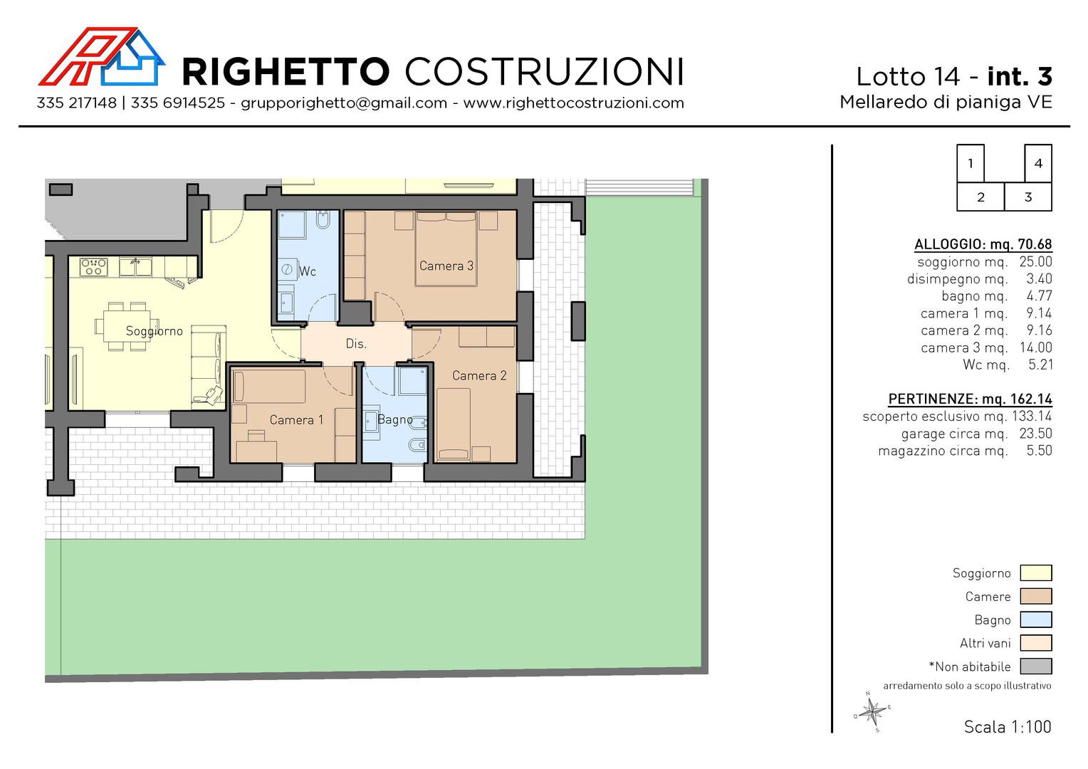 Appartamenti Mellaredo di Pianiga VE