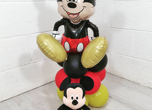 CHARACTER BALLOON BOUQUETS
