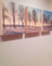 This is a Wood Art Block triptych featuring Second Beach in Vancouver, BC. It is created on natural wood and various sizes are available.