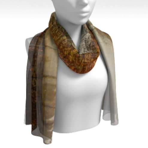 Silk Scarf - Out of the Fog