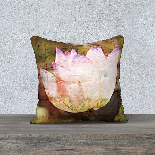 Cushion Cover - Lotus Flower