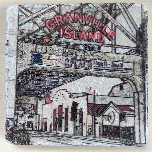Granville Island-Marble Coaster Impressions