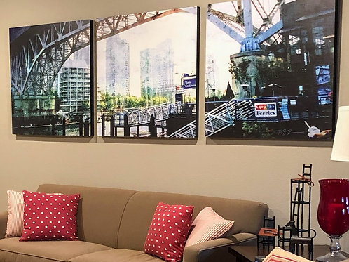 Textured Wood Art Panels with Custom Photos too - Connections