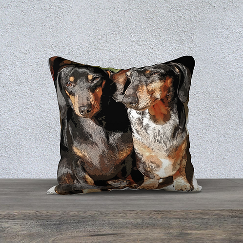 Cushion Cover - Squeeky & Zoey