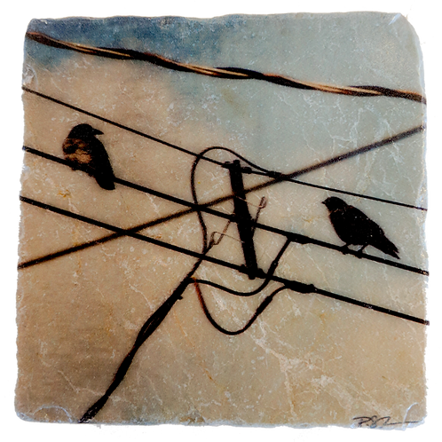 Marble Art Photo Coasters - Conundrum