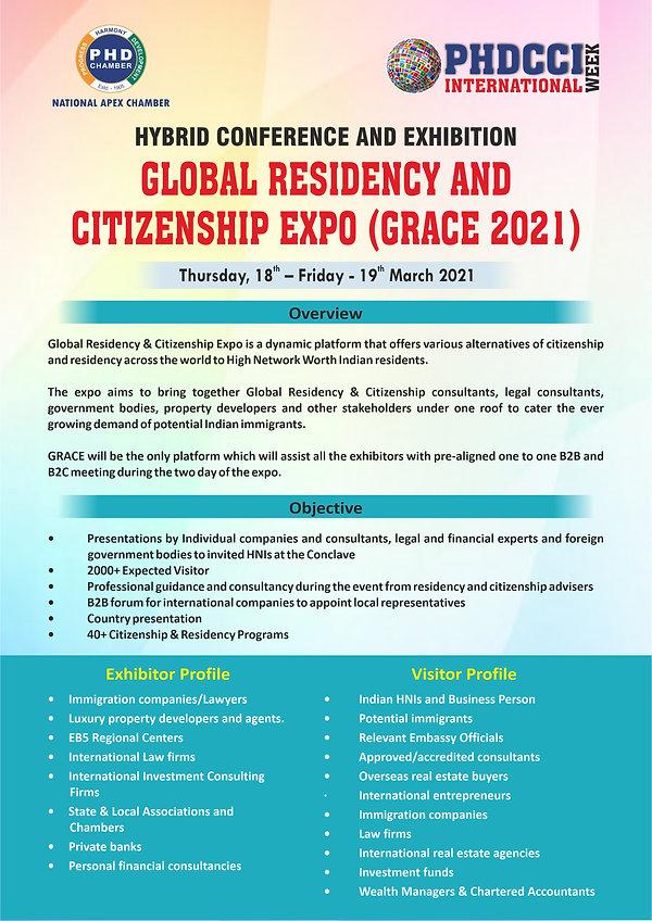 Brochure -PHDCCI INTERNATIONAL WEEK 2021