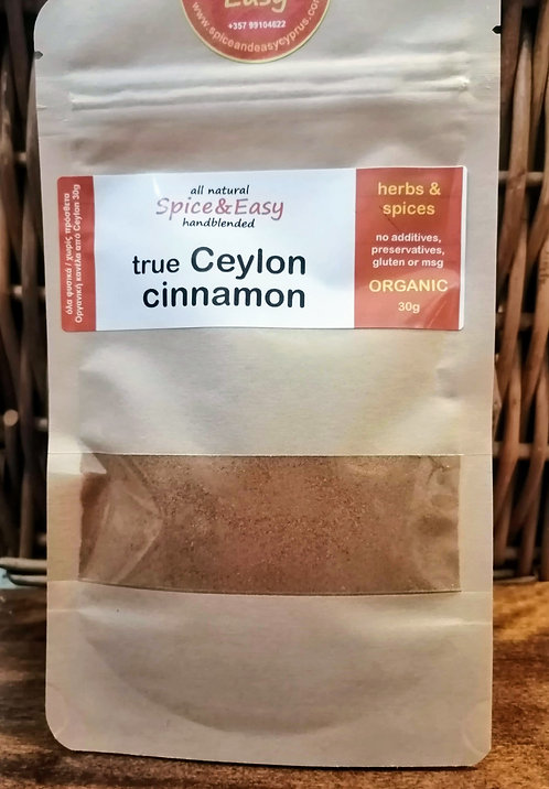 True Ceylon Cinnamon 30g