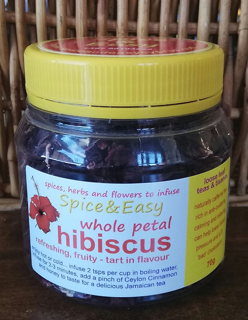 Whole Petal Hibiscus
