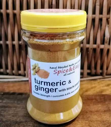 Turmeric with Ginger with Black Pepper Blend 100g