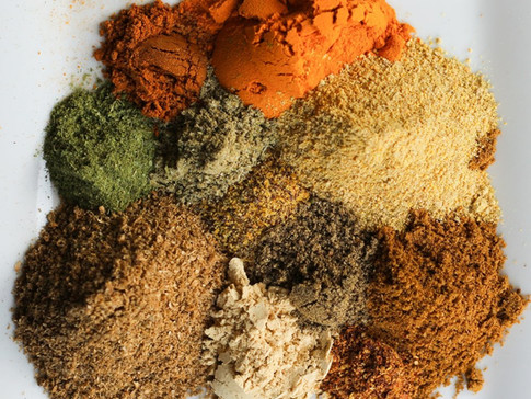 Curry Powder - a blend of spices from Indian cuisine