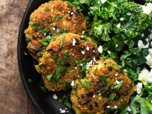 Ras el Hanout - Spice Chickpea Fritters