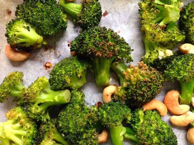Roasted Broccoli for Beautiful Skin