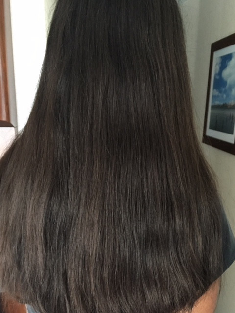 full thick hair growth on the scalp