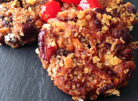 Skin Saving Snacks: Red Bean Mushroom Fritters Provide an Extra Dose of Fiber and Zinc