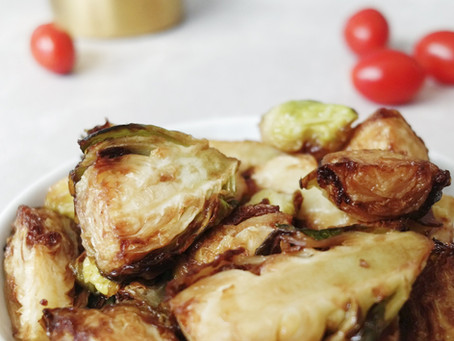 Skin-Saving Snacks: Roasted Brussels Sprouts