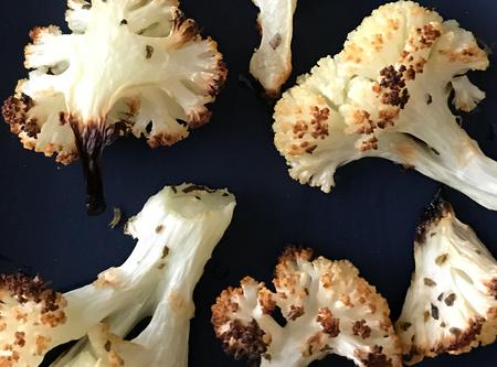 Roasted Cauliflower: A Skin Saving Snack